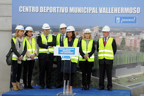 El Centro Deportivo Municipal Vallehermoso abre en junio para dar servicio a Chamberí