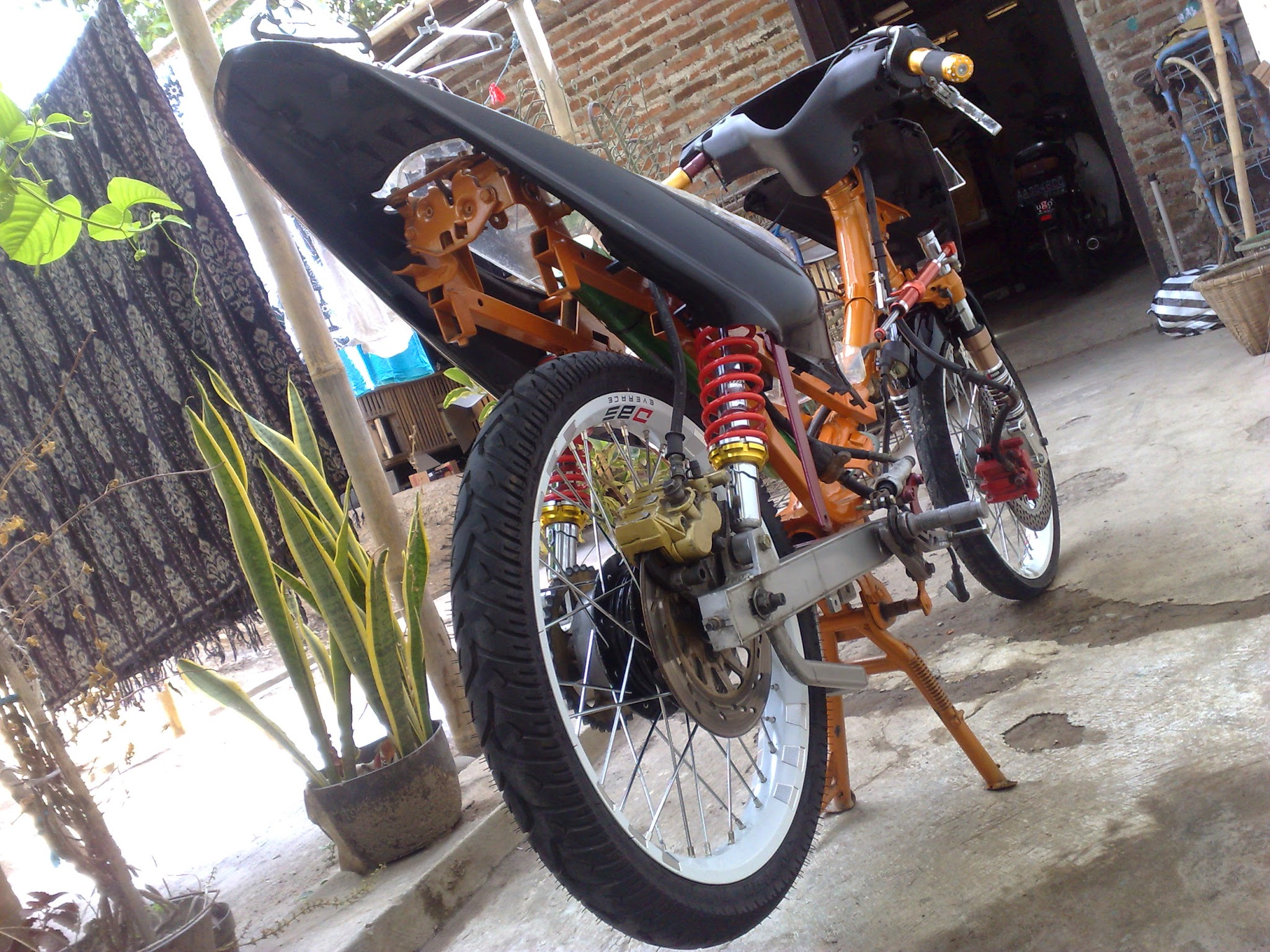 Modif Yamaha Force One