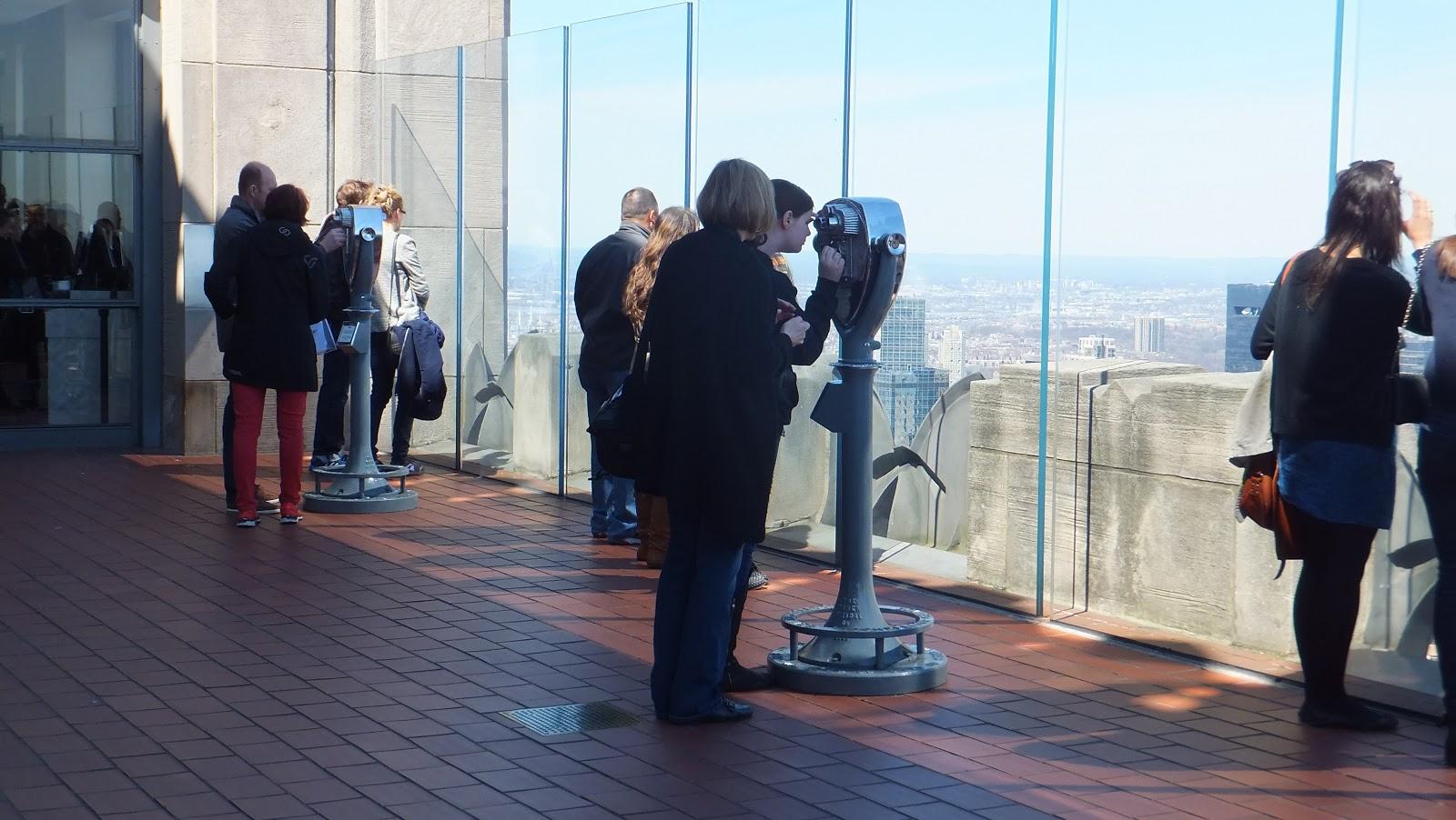 Observatory Deck, Top of the Rock, Rockefeller Center, New York