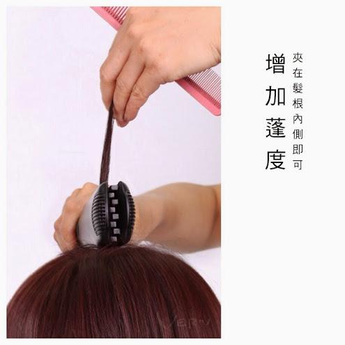 韋恩鈦合金方型玉米鬚夾,支撐髮型(髮根)&特殊造型超便利