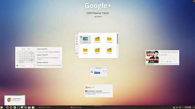 ¿Te gusta Google+? Mira estos temas para GNOME Shell y KDE