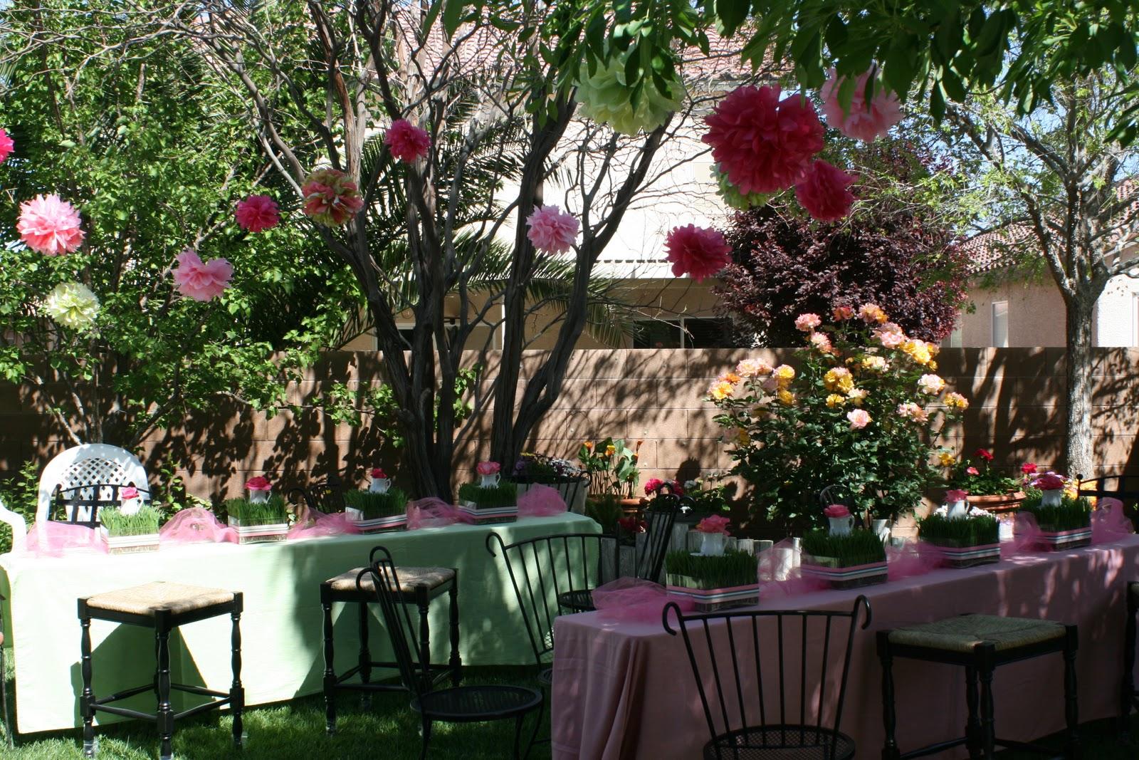 remarkable home garden tea party baby shower