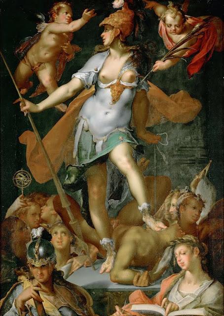 Bartholomeus Spranger - Minerva Victorious over Ignorance