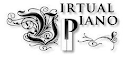 Logotipo del piano virtual