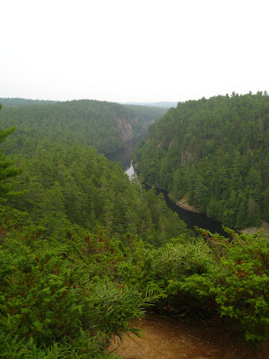 Barron River canyon.