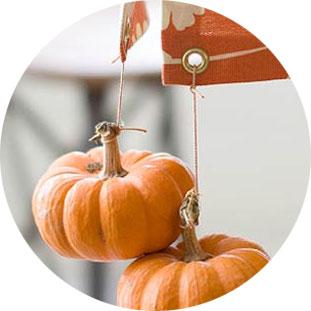 Sujetamanteles decoración otoño