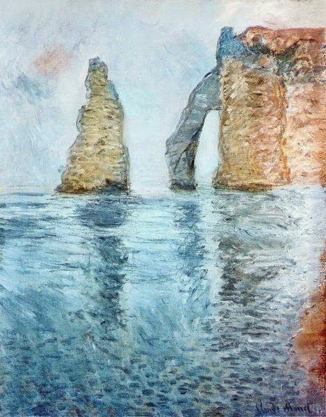 モネlog: エトルタの海景画(「...