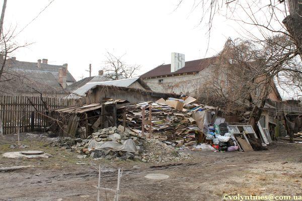 Барикади на вул.Караїмській