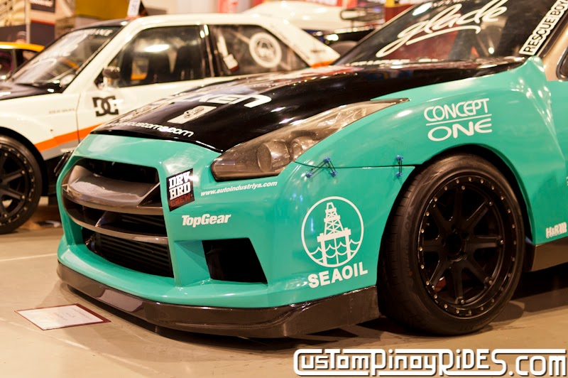 Atoy Customs Nissan Cefiro A31 to R35 GT-R Drift Car Conversion Custom Pinoy Rides Car Photography Manila Philippines pic2