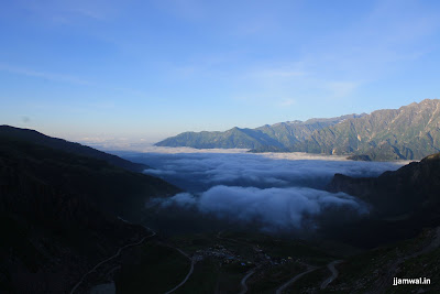 View near Rohtang pass
