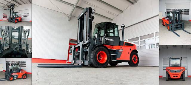 Xe nâng hàng 10 - 15 tấn Linde