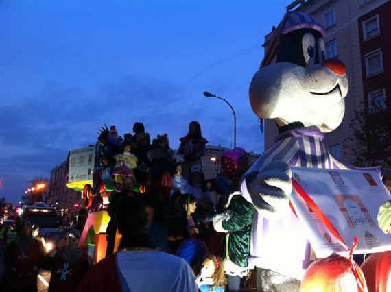Cabalgatas de Reyes 2013 en los Distritos de Madrid