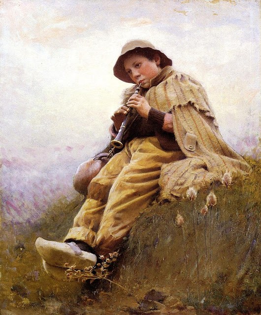 Charles Sprague Pearce – Shepherd Boy