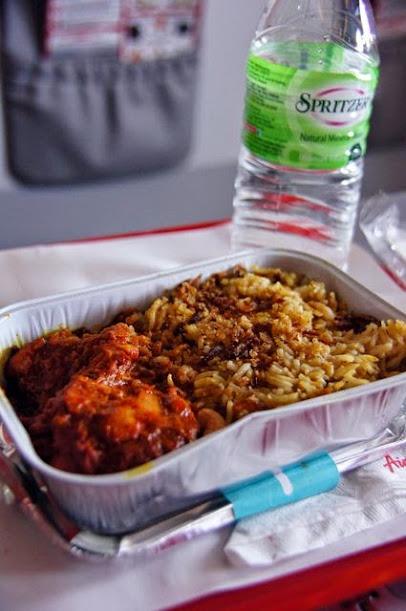 達人帶路-環遊世界-亞航飛機餐