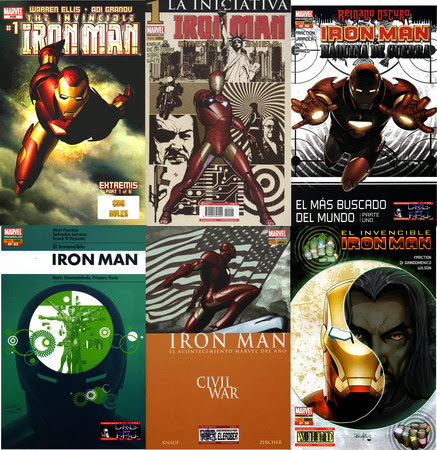 Iron Man [Vol. 4] (Invincible, War Machine) [49][C�mic][Espa�ol]
