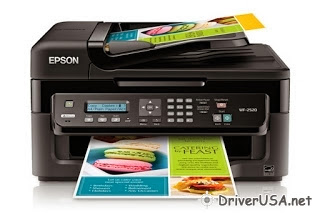 download Epson Workforce WF-2520 printer's driver
