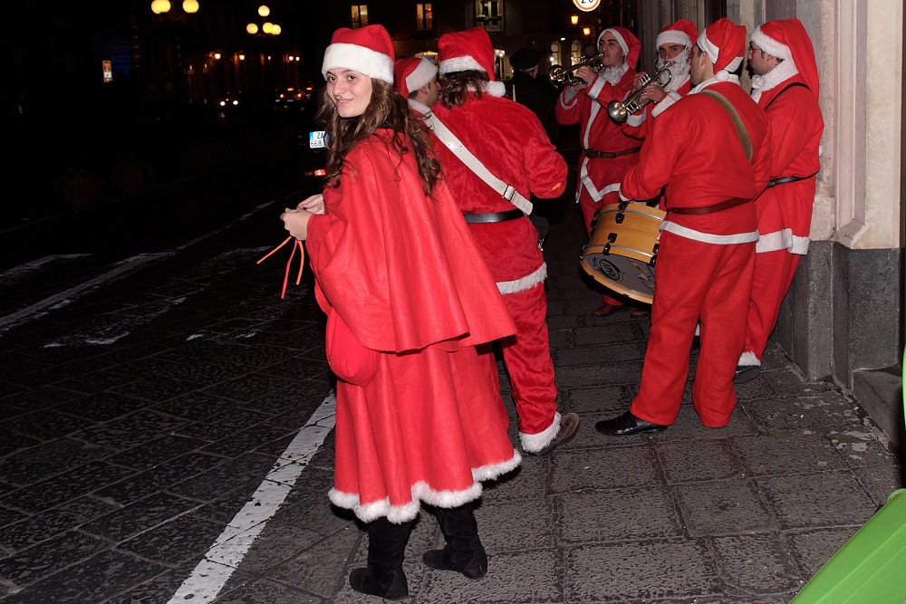 Оркестр Санта-Клаусов