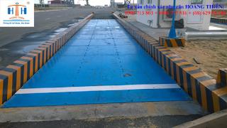 Dịch vụ kiểm định cân ô tô xe tải 60 tấn
