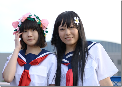 unknown cosplay 97 from winter comiket 2010 - to aru kagaku no railgun cosplay - uiharu kazari and saten ruiko