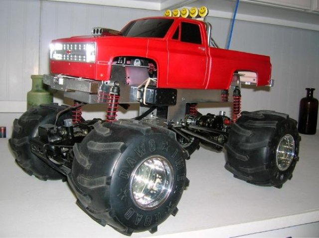 Another Sassy Chassis ClodBuster Pictures | Tamiya Clod
