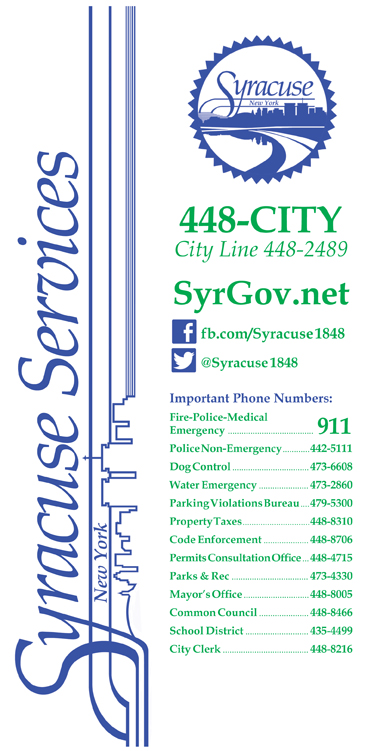 Syracuse City Services