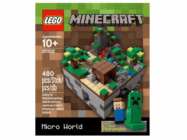 21102 レゴ クーソー マインクラフト マイクロワールド