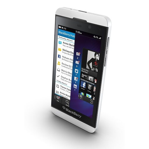 BLACKBERRY Z10 16GB WHITE FACTORY UNLOCKED at Sears.com