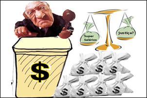 Crítica à Justiça. Leis só para os pobres. No RS servidores têm renda de até 52,6 mil.