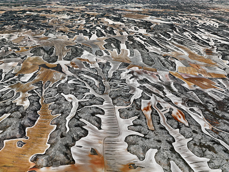 Dryland Farming #9, Monegros County, Aragon, Spain, 2010 by Edward Burtynsky