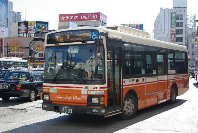 東武バスウエスト 5006号車