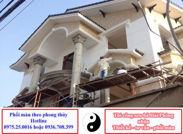 Dịch vụ sơn nhà đẹp tại Hải Phòng - Sơn lại nhà Hải Phòng