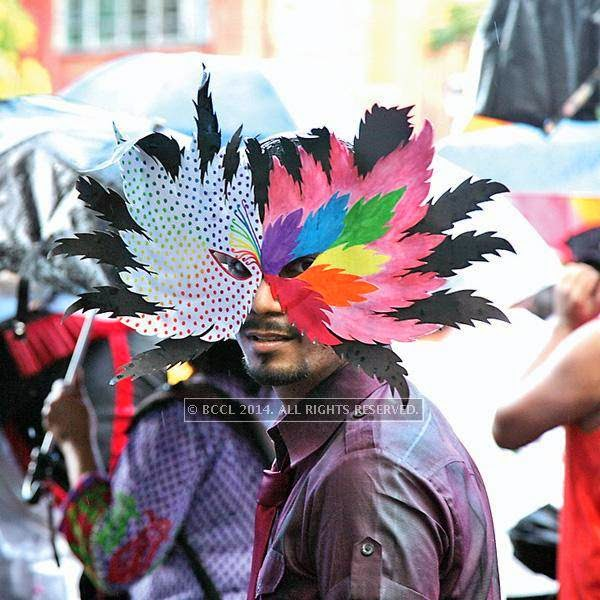 The 13th edition of Kolkata Rainbow Pride Walk 2014, held in Kolkata.