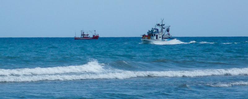 Fischerboote vor Gran Canaria
