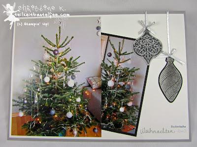 stampin up, in{k}spire_me 178, christmas tree, weihnachtsbaum, ornament keepsakes, endless wishes, wünsche zum fest, scrapbook layout