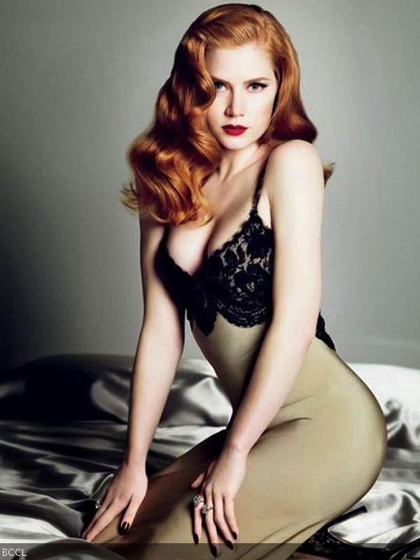 Amy Adams: It is easy to see why Amy is still one of Hollywood's top actress. She is a great figure and a amazing body, and also she can act!