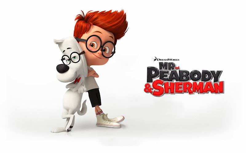 Ο κος Πίμποντι και ο Σέρμαν Mr. Peabody and Sherman Wallpaper