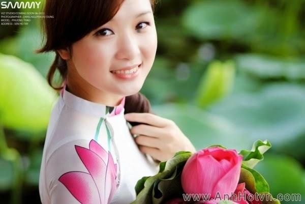 Bộ ảnh áo dài Việt P12