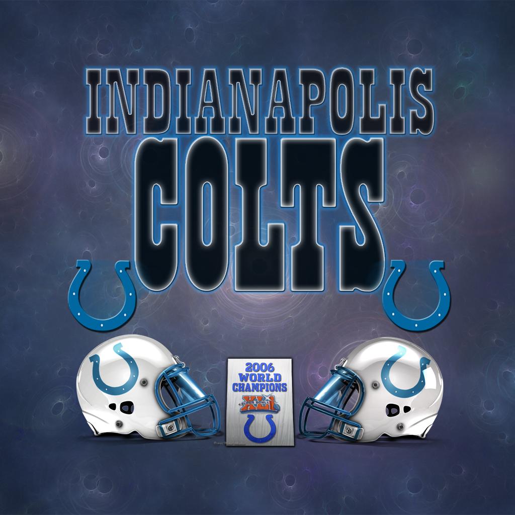 Indianapolis Colts Ipad Wallpaper 1024 x 1024 Ipad