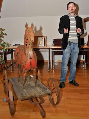 Kunstausstellung von Jochen Böhnert im Auggener Rathaus