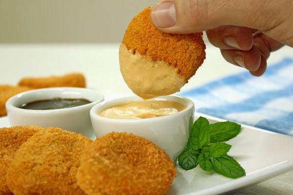 Nuggets com Molho Agridoce