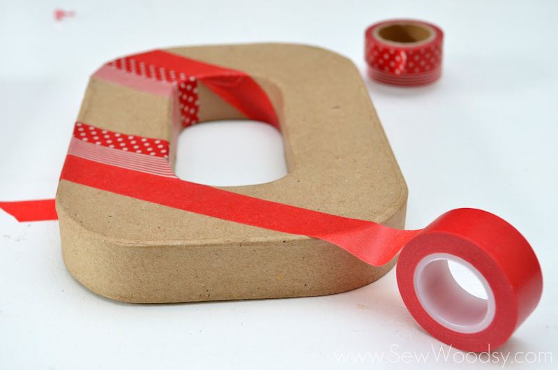 Washi Tape Joy Letters