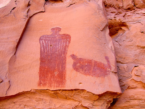 Moqui Queen pictograph