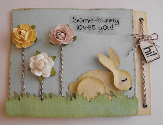 my craft spot some bunny loves you. Black Bedroom Furniture Sets. Home Design Ideas
