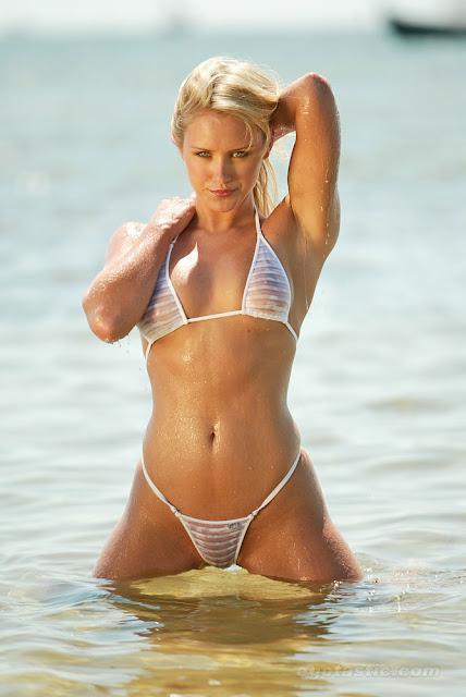 Top Actresses and Models: Nicky Whelan See Through Bikini HQ Pics