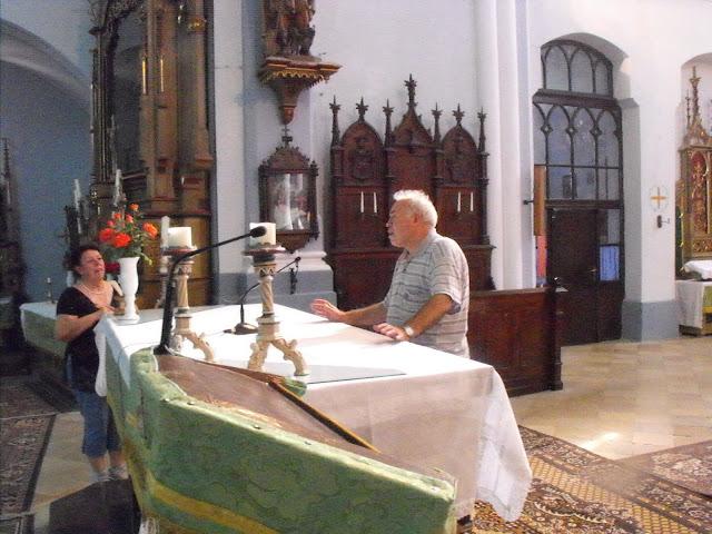 A plébános úr mesél a templomról