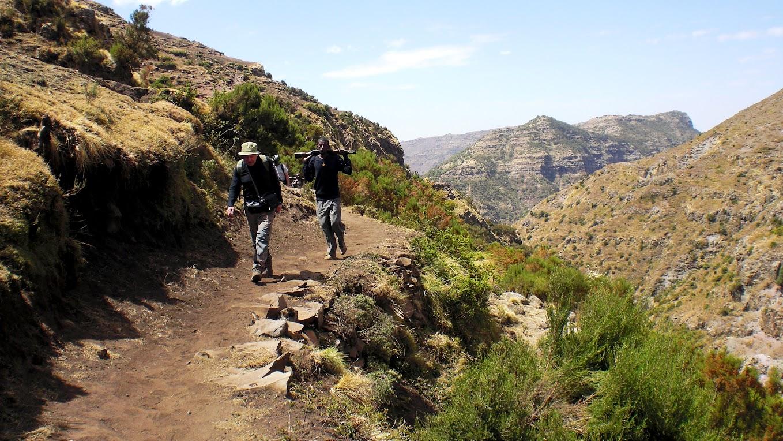 Kelione i Etiiopija.Simieno kalnai.Autorius:Tomas Baltusis
