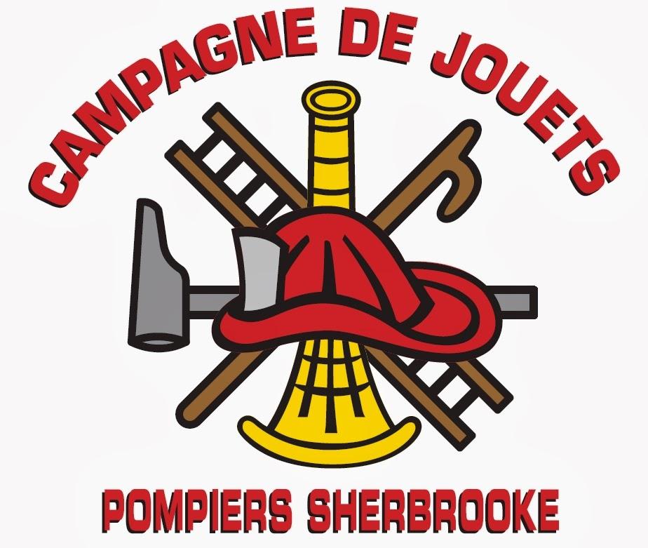 Logo Campagne de Jouets des Pompiers de Sherbrooke