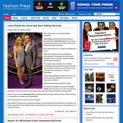 Fashion Press – by ThemeJunkie