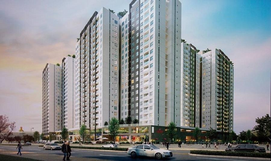 Phối cảnh căn hộ Akari City Võ Văn Kiệt