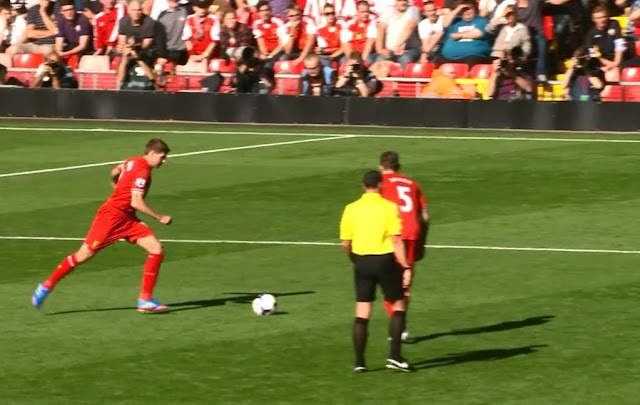 Gerrard, Liverpool - Southampton